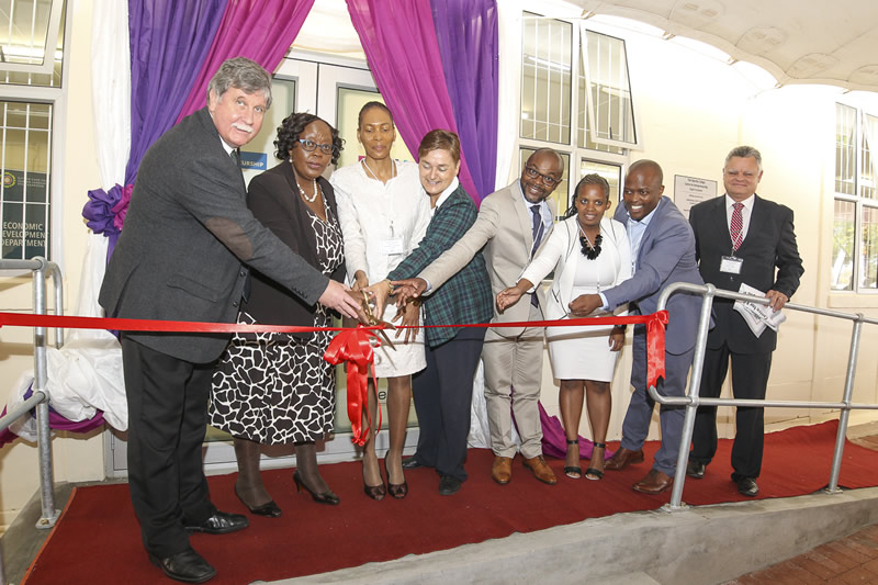 Cutting of the Ribbon CFE